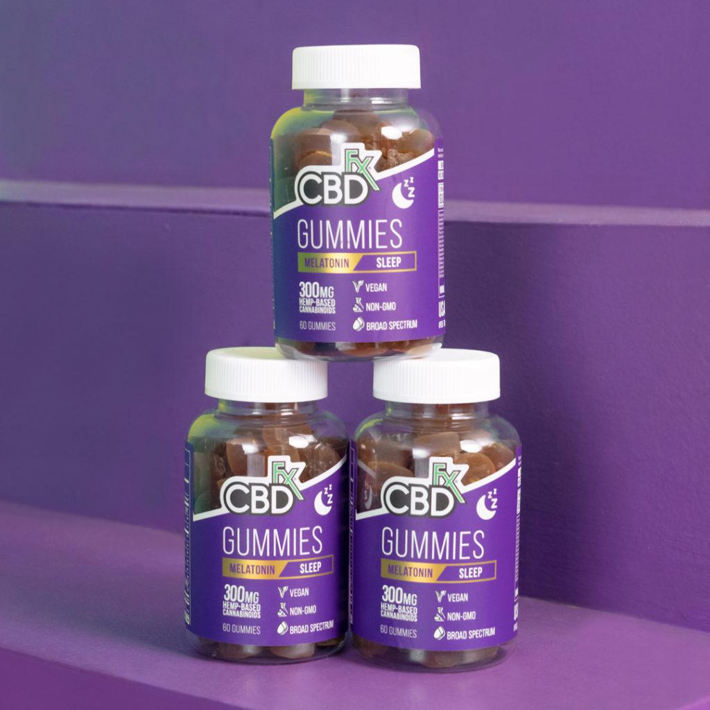 CBDFX CBD Gummies for Sleep with Melatonin Review - The Best CBD Gummies For Sleep